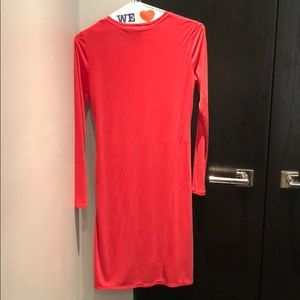 BCBGMaxAzria Dresses - BCBG Roxie long sleeve dress- NWT